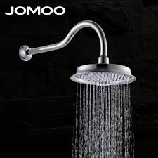 compare prices on rain shower online shopping buy low price rain jomoo 9 inch bathroom shower head rain shower with arm or ceiling water saving pressure bath