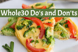 Whole30 Plan Dos And Dont U0027s