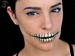 halloween makeup ideas skeleton