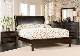 furniture fashions phoenix cappuccino platform king bed