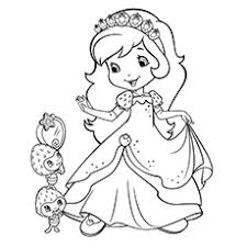 15 strawberry coloring pages