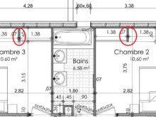 superficie minimum chambre surface minimum chambre design banc