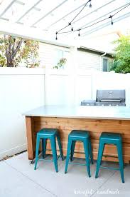 How To Create An Outdoor by How To Build Outdoor Kitchen Island Create An Outdoor Kitchen