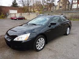 2006 black honda accord coupe used 2006 honda accord ex v6 coupe for sale stock p101290a