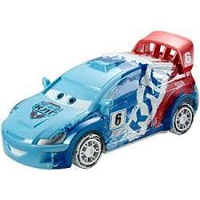 disney u2022pixar cars ice drifters lightning mcqueen vehicle cdn68