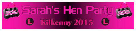 Designerk Hen Personalised Hen Party Banner Design 6