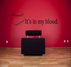 softball wall decal etsy blood baseball wall decal sports decals softball