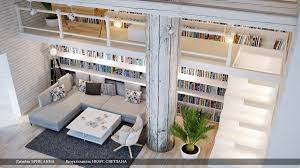 modern home library interior design gray white home library lounge interior design ideas