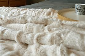 Cheap Faux Fur Blanket Throws U0026 Blankets Wool Or Faux Fur Natural Bed Company