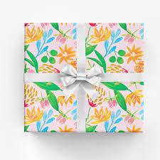 where to buy gift wrapping paper gift wrap watercolor illustration and surface design amanda