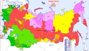 map of ussr hisatlas map of soviet union 1945 1991