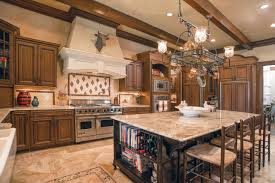 kitchen style grande mediterranean kitchen design with four