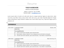 classic resume template nakameguro classic resume template