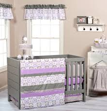 Girls Nursery Bedding Sets by Gray And Purple Crib Bedding Baby Bedding Crib Cot Sets Purple