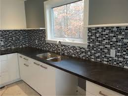 stainless steel backsplashes for kitchens kitchen stainless steel backsplash tiles quartz countertops