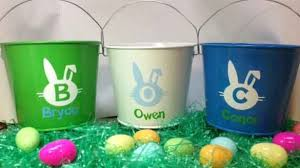 personalized easter buckets the personalized easter basket for personalized easter baskets