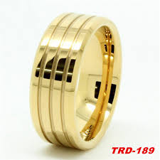 men gold ring design hot 8mm 10mm gold ring design tungsten carbide ring for men s
