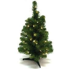 wideskall tabletop christmas pine tree 2 feet artificial with 30