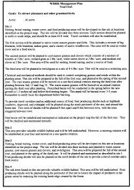 landowner u0027s guide writing a management plan