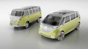 volkswagen bulli 1950 vw u0027s electric microbus is coming in 2022