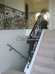 wrought iron stair rail remodel gallery naddour iron