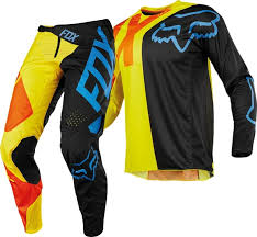 fox youth motocross gear 2018 fox 360 preme kids youth motocross gear black yellow 1stmx