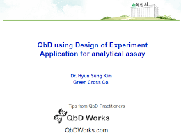 qbd design space for analytical assay screening doe tutorial