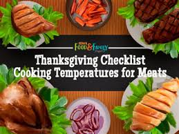 thanksgiving list of foods thanksgiving checklist plan for an unforgettable family feast