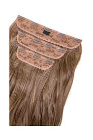 Tap In Hair Extensions by Dollywood Boutique Chelsea Three Piece Synthetic Clip In Hair