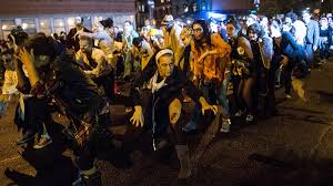 where is the halloween parade in new york city watch 2015 nyc halloween parade live from the village free online