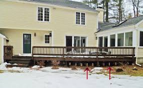 Cantilevered Deck by Will Snow Damage My Deck This Winter Tips For Clearing Snow From