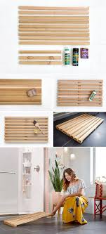 bathroom mat ideas wood bathroom mat home design ideas and pictures