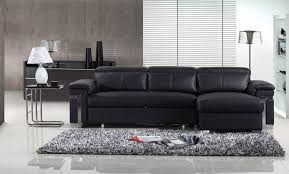 Modern Black Leather Sofas 30 Best Collection Of 3 Seater Leather Sofas