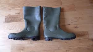 boots uk size 9 arco wellington boots uk size 9 green black in swindon