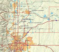 Broomfield Colorado Map by Fort St Vrain