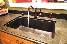 quartz kitchen sinks pros and cons composite sinks pros and cons large size of sink granite farmhouse