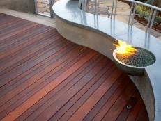Gas Fire Pit Logs by How To Make A Backyard Fire Pit Hgtv