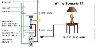 how to wire electrical switch and outlet how to wire a switched