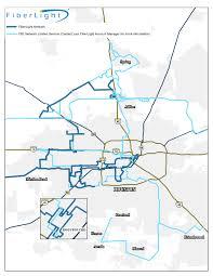 Map Houston Tx Fiber Optic Network Footprint Fiberlight