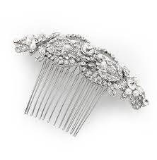 hair combs antique silver hair comb by vintage styler notonthehighstreet