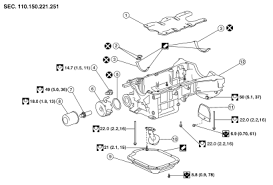 nissan altima engine oil pressure warning light nissan altima 2007 2012 service manual oil pan and oil strainer