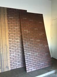 interior wall paneling home depot faux brick panels startling hometalk faux brick wall then faux