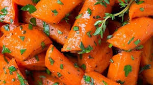 honey roasted carrots cooking