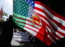 Mexicans Flags California Latino Population Growth Latinos Set To Take Majority