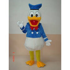 donald costume donald duck mascot costume hire