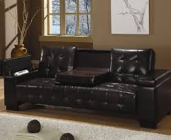 leather futon with cup holders roselawnlutheran