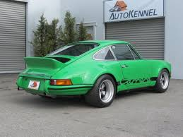 1973 porsche rs for sale 1973 porsche 911 rsr viper green tribute with 3 5l 300hp orig