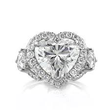 heart shaped diamond engagement rings mark broumand 5 91ct heart shaped diamond engagement ring youtube