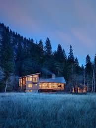 finne architects u0027 lightweight mazama house in washington state