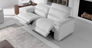 canapé relax electrique 2 places arizona relaxation électrique ou fixe personnalisable sur univers